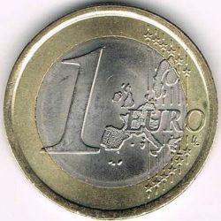 Münze > 1Euro, 2002-2007 - Italien  - reverse