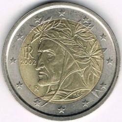 Монета > 2евро, 2002 - Италия  - reverse