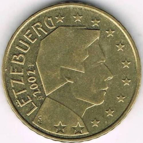 50 Eurocent 2002 2006 Luxemburg Münzen Wert Ucoinnet