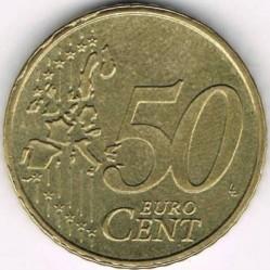 Кованица > 50eurocent, 2002-2006 - Луксембург  - reverse