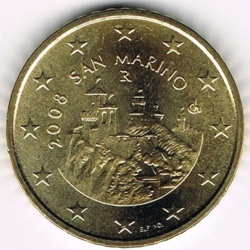 50 centesimi 2008 2016 san marino km 484 catalogo for Moneta 50 centesimi