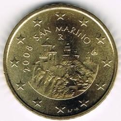 Münze > 50Eurocent, 2008-2016 - San Marino  - obverse