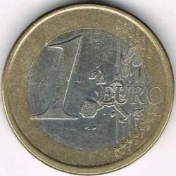 Moneta > 1euro, 1999-2006 - Spagna  - reverse