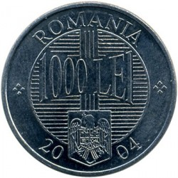 Moneta > 1000lei, 2000-2005 - Romania  - reverse