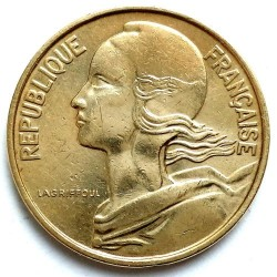 سکه > 10سنتیم, 1962-2001 - فرانسه  - obverse