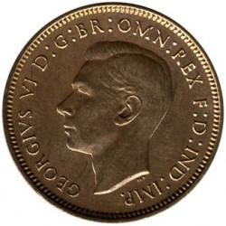 錢幣 > 1花星, 1937-1948 - 英國  - obverse