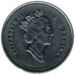 Moneta > 5centesimi, 1990-2001 - Canada  - obverse