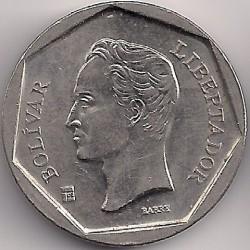 Moneda > 20bolívares, 1999 - Venezuela  - obverse