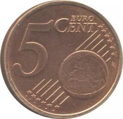 Монета > 5євроцентів, 2009-2018 - Словаччина  - reverse