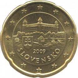Монета > 20евроцентов, 2009-2018 - Словакия  - obverse