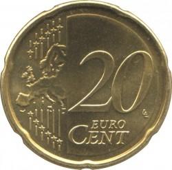Moeda > 20cêntimos, 2009-2017 - Eslováquia  - reverse