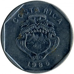 Moneta > 10kolonų, 1985 - Kosta Rika  - reverse