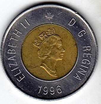 2 dollars 1996-2003, Canada - Coin value - uCoin net