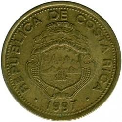 Монета > 10колонів, 1997 - Коста-Ріка  - obverse
