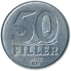 Монета > 50филлеров, 1967-1989 - Венгрия  - reverse