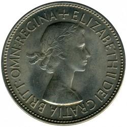 Moneda > ½corona, 1953 - Reino Unido  - obverse