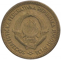 Minca > 10dinara, 1963 - Juhoslávia  - obverse