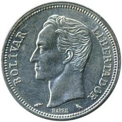 Coin > 1bolívar, 1960 - Venezuela  - reverse