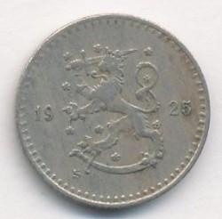 Münze > 25Penny, 1925 - Finnland  - obverse