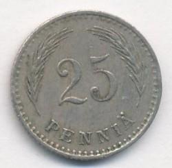 Münze > 25Penny, 1925 - Finnland  - reverse