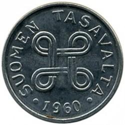 Münze > 1Mark, 1960 - Finnland  - obverse