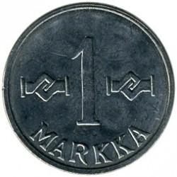 Münze > 1Mark, 1960 - Finnland  - reverse