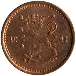 Moneta > 50penniä, 1940-1943 - Finlandia  - obverse
