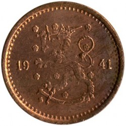 Münze > 50Penny, 1941 - Finnland  - reverse