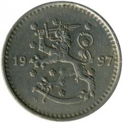 Münze > 1Mark, 1937 - Finnland  - obverse