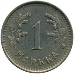 Münze > 1Mark, 1937 - Finnland  - reverse