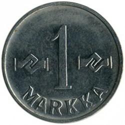 Münze > 1Mark, 1958 - Finnland  - reverse