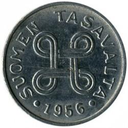 Münze > 1Mark, 1956 - Finnland  - obverse