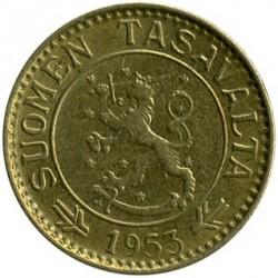 Münze > 10Mark, 1953 - Finnland  - obverse