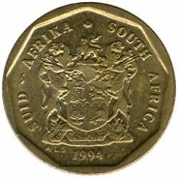 Moneta > 10centów, 1990-1995 - Afryka Południowa  - obverse