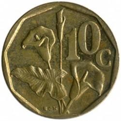 Moneta > 10centów, 1990-1995 - Afryka Południowa  - reverse