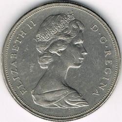 Mynt > 1dollar, 1968-1972 - Canada  - obverse