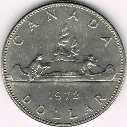 Coins & Paper Money Other Canadian Coins 1 Dollar 1969 Canada Elizabeth Ii D.g.regina