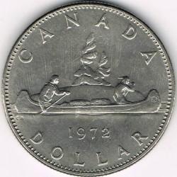 Mynt > 1dollar, 1968-1972 - Canada  - reverse