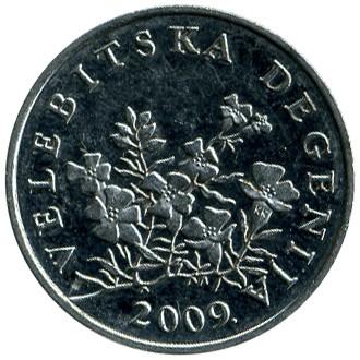 50 Lipa 2009 Kroatien Münzen Wert Ucoinnet