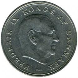 Moneda > 1krone, 1960-1972 - Dinamarca  - obverse