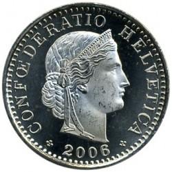 Moneda > 20rappen, 2006 - Suïssa  - obverse