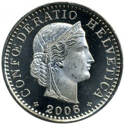 Moneda > 20rappen, 2006 - Suïssa  - reverse