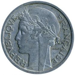 Minca > 2francs, 1941-1959 - Francúzsko  - obverse
