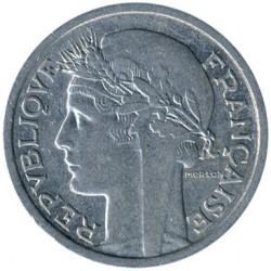 Moneda > 1franc, 1941-1959 - França  - obverse