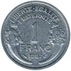 Moneda > 1franc, 1941-1959 - França  - reverse