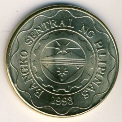 Moneta > 5pesai, 1995-2017 - Filipinai  - reverse