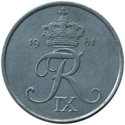 Minca > 5ore, 1950-1964 - Dánsko  - obverse