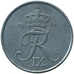 Minca > 5ore, 1950-1964 - Dánsko  - reverse