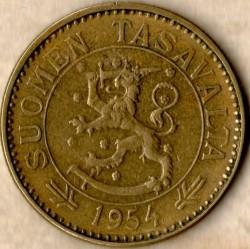 Münze > 50Mark, 1954 - Finnland  - reverse