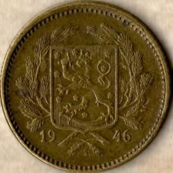 Münze > 5Mark, 1946 - Finnland  - obverse